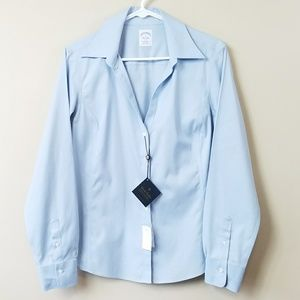 NWT Brooks Brothers Light Blue Button Down Shirt